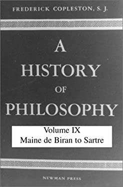 History of Philosophy: Maine de Brian to Satire 9780809101962