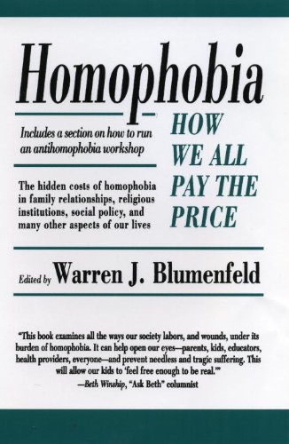 Homophobia: How We All Pay the Price
