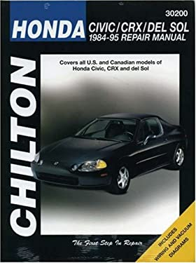 Honda: Civic, Crx and del Sol 1984-95 9780801986833