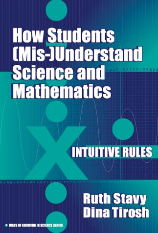 How Students (MIS-) Understand Science and Mathematics: Intuitive Rules