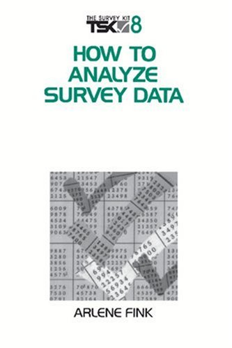 How to Analyze Survey Data 9780803973862