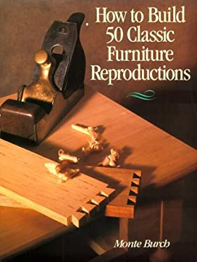 How to Build 50 Classic Furniture Reproductions 9780806903026