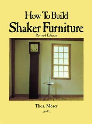 How to Build Shaker Furniture 9780806983929