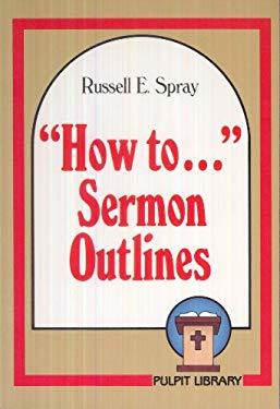 How to Sermon Outlines 9780801082528