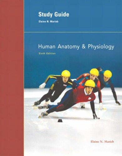 Human Anatomy & Physiology Study Guide 9780805354645