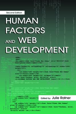 Human Factors Web Develop.2nd Ed C 9780805842210