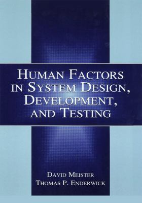 Human Factors in System Design 9780805832068