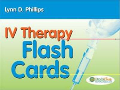 IV Therapy Flash Cards 9780803621411