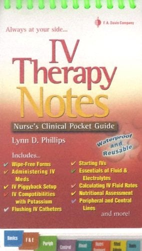 IV Therapy Notes 9780803612884