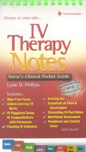IV Therapy Notes