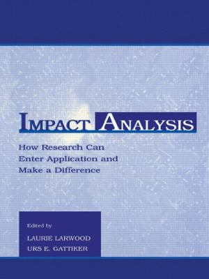 Impact Analysis: How Research Can Enter Application and Make a Difference 9780805821048