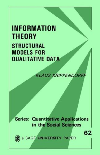 Information Theory: Structural Models for Qualitative Data 9780803921320