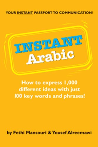 Instant Arabic: How to Express 1,000 Different Ideas with Just 100 Key Words and Phrases! 9780804838603