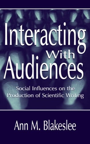 Interacting with Audiences 9780805822991