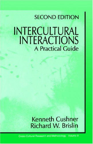 Intercultural Interactions: A Practical Guide 9780803959910