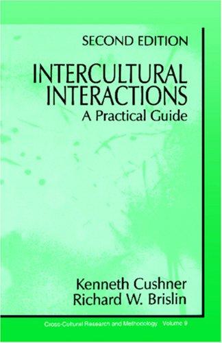 Intercultural Interactions: A Practical Guide 9780803959910