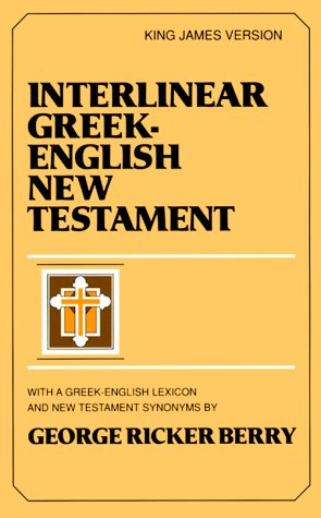 Interlinear New Testament-KJV 9780801007002