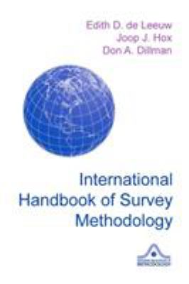 International Handbook of Survey Methodology 9780805857535