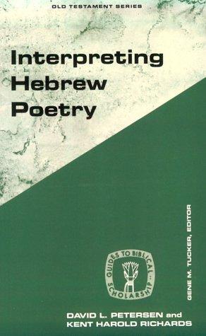 Interpreting Hebrew Poetry 9780800626259