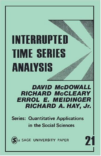 Interrupted Time Series Analysis 9780803914933