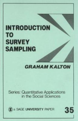 Introduction to Survey Sampling 9780803921269