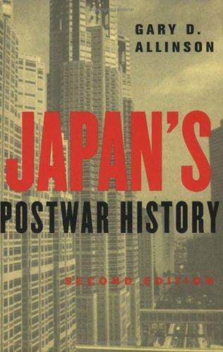 Japan's Postwar History 9780801489129