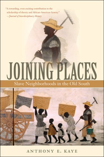 Joining Places: Slave Neighborhoods in the Old South 9780807861790