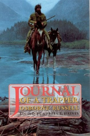 Journal of a Trapper 9780803251663