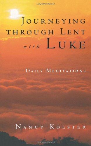 Journeying Through Lent with Luke 9780806640655