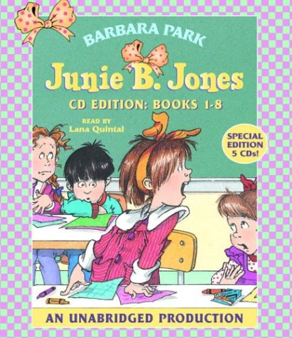 Junie B. Jones Collection: Books 1-8: #1 Stupid Smelly Bus; #2 Monkey Business; #3 Big Fat Mouth; #4 Sneaky Peaky Spyi Ng; #5 Yucky Blucky Fruitcake; 9780807218679