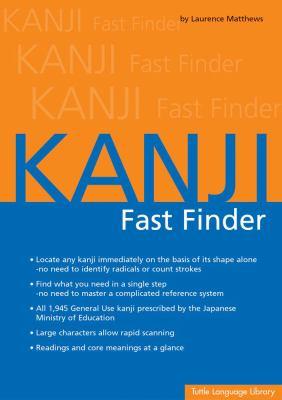 Kanji Fast Finder 9780804833936