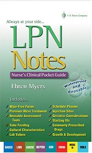 LPN Notes 9780803611320