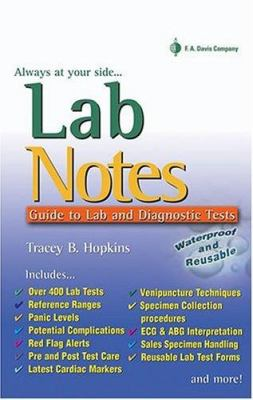Labnotes: Guide to Lab & Diagnostic Tests 9780803612655