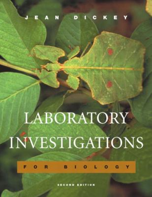 Laboratory Investigations for Biology 9780805367898