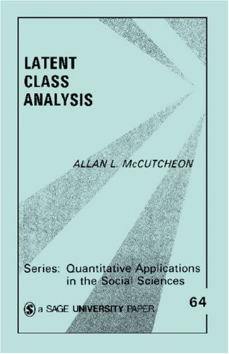 Latent Class Analysis 9780803927520