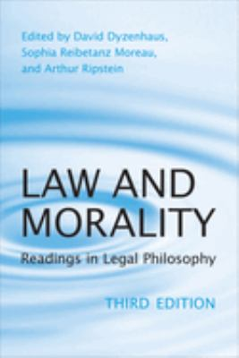 Law and Morality: Readings in Legal Philosophy 9780802094896