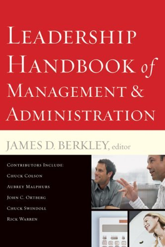 Leadership Handbook of Management and Administration 9780801068140