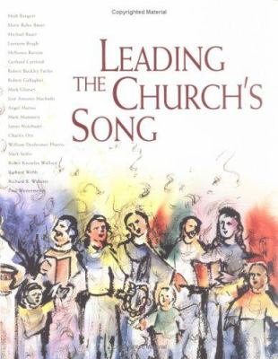 Leading the Churchs Song [With CD] 9780806635910