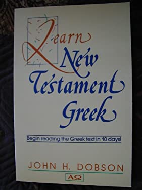 Learn New Testament Greek 9780801029929