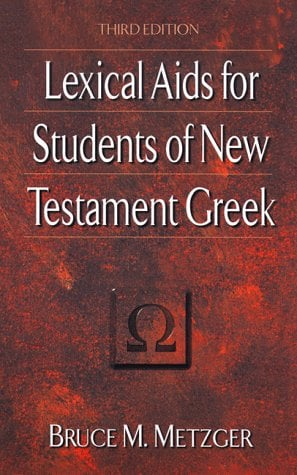 Lexical AIDS for Students of New Testament Greek 9780801021800