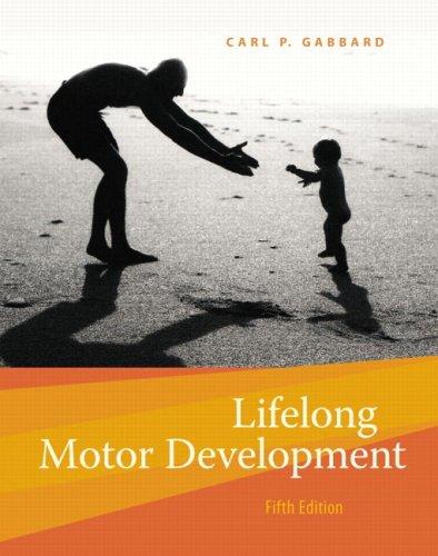 Lifelong Motor Development 9780805327243