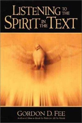 Listening to the Spirit in the Text