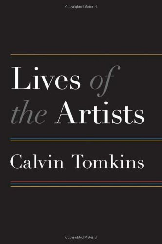 Lives of the Artists 9780805088724
