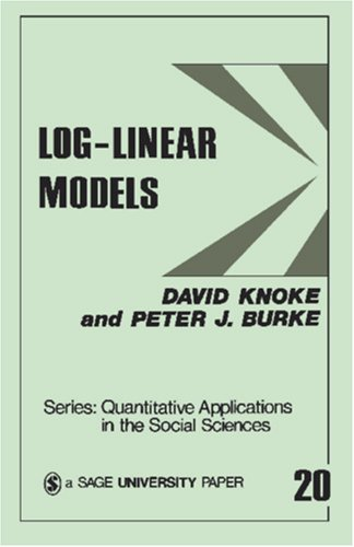 Log-Linear Models 9780803914926