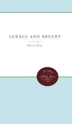 Lukacs and Brecht 9780807816400