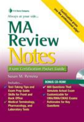 MA Review Notes [With Mini CDROM] 9780803621947