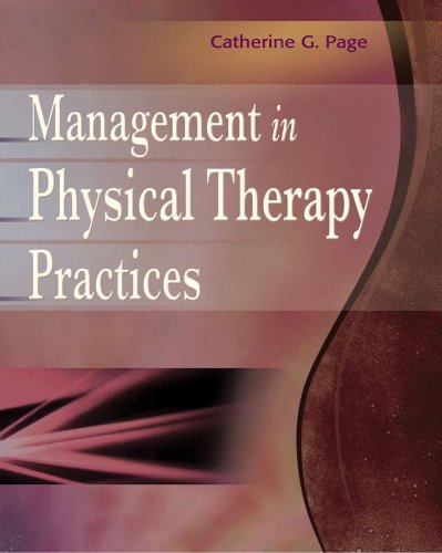 Management in Physical Therapy Practices 9780803618725