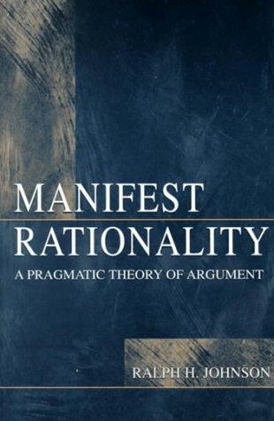 Manifest Rationality PR 9780805821741