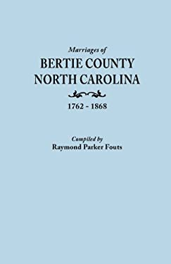 Marriages of [Name of County] North Carolina, [Date] 9780806309767
