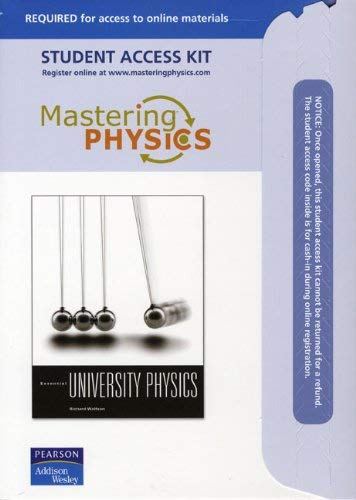 Mastering Physics Student Access Kit 9780805304961